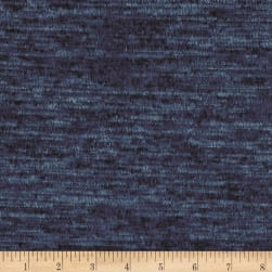Telio Topaz Hatchi Knit Petrol Blue Fabric