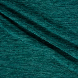 Telio Topaz Hatchi Knit Teal Fabric
