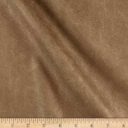 Telio Perfection Fused Faux Leather Metallic Gold Fabric