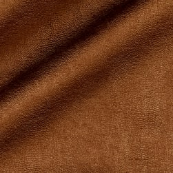 Telio Perfection Fused Faux Leather Metallic Copper Fabric