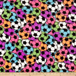 Whisper Plush Fleece Soccer Stadium Bright Fabric