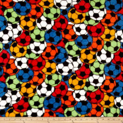 Whisper Plush Fleece Soccer Stadium Primary Fabric