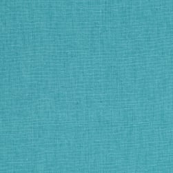 Kaufman Essex Linen Blend Medium Aqua Fabric