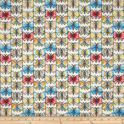 Luminaria Butterfly Stripe Multi Fabric