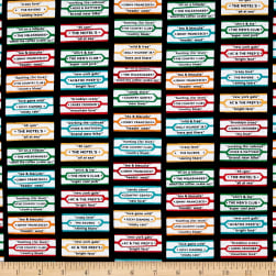 Kanvas Arnold's Diner Music Labels Black/Multi