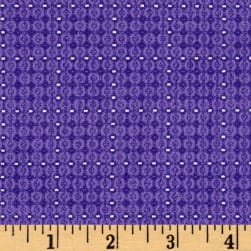 Piccadilly Mini Grid Mulberry