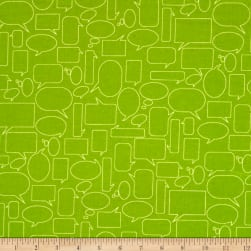 Moda Mixed Bag Flannel Quote This Grass