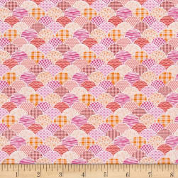 Kitchen Love Scallop Pink Fabric