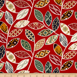 Karma Vrin Davin Red Fabric