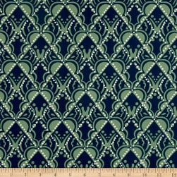 Karma Kriya Dark Green Fabric