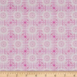 Treasures of Nature Aviary Tonal Medallion Pink