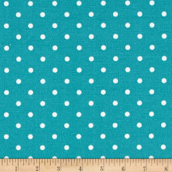 Premier Prints Indoor/Outdoor Mini Dot Ocean Fabric