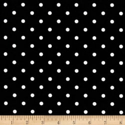 Premier Prints Indoor/Outdoor Mini Dot Black Fabric