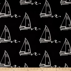 Premier Prints Indoor/Outdoor Seaton Black Fabric