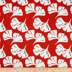 Premier Prints Indoor/Outdoor Ginko Orange Fabric