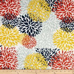 Premier Prints Indoor/Outdoor Blooms Perla Fabric