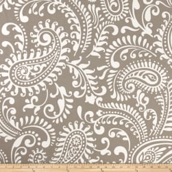 Premier Prints Indoor/Outdoor Walker Oyster Fabric