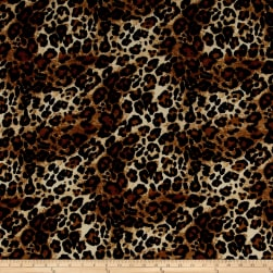 Crepe Wild Large Cheetah Black