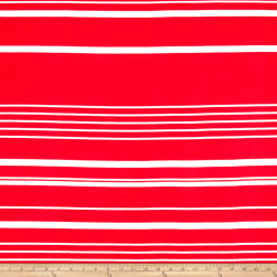 Liverpool Double Knit Multi Stripe Red