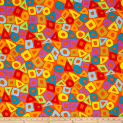 Brandon Mably Puzzle Orange Fabric