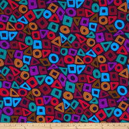 Brandon Mably Puzzle Purple Fabric