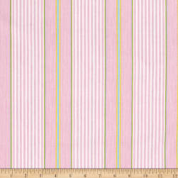 Isabelle Stripe Pink Fabric