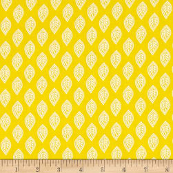 Isabelle Leaf Yellow Fabric