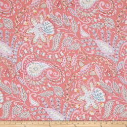 Isabelle Ornate Pink Fabric