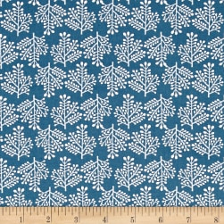 Isabelle Forest Blue Fabric