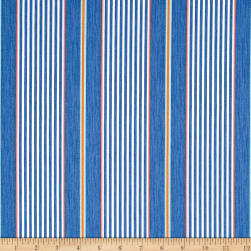 Isabelle Stripe Blue Fabric