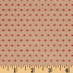 Tim Holtz Electic Elements Correspondence Symmetrical Red