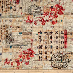 Tim Holtz Electic Elements Correspondence Special Delivery Neutral