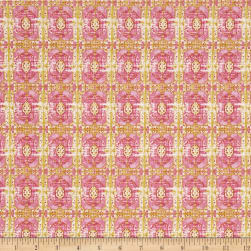 Tina Givens Rose Water Wallpaper Room Lime Fabric