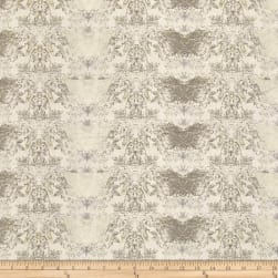 Tina Givens Rose Water Honey Pie Lace Slate Fabric