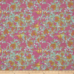 Tina Givens Rose Water Broken Glass Lilac Fabric