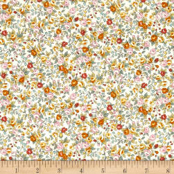 Kaufman Sevenberry Bouquet Large Flower Summer Fabric