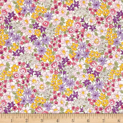 Kaufman Sevenberry Petite Garden Variety Purple Fabric
