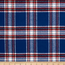 Kaufman Mammoth Flannel Plaids Ameriana Fabric