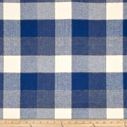 Kaufman Mammoth Flannel Plaids Denim Fabric