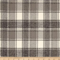 Kaufman Mammoth Flannel Plaids Iron Fabric