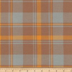 Kaufman Grizzly Plaids 6.6 Oz Twill Plaid Traditional