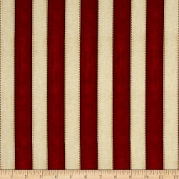 American Honor Stripes Red Fabric