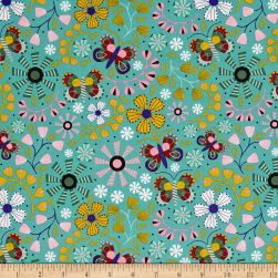 Daydream Floral Allover Green