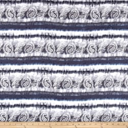 Rayon Challis Moon Beams Tie Dye Charcoal Fabric