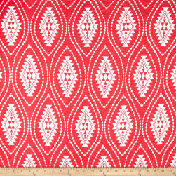 Fashion Jersey Knit Abstract Coral Fabric