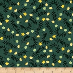 Bright Side Sprigs Light Pine Green Fabric