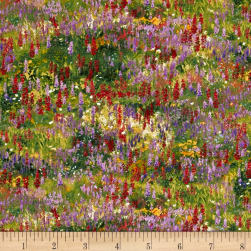 Wildflower Trails Flowers Multi Fabric