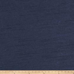 Trend 01697 Faux Silk Navy Fabric