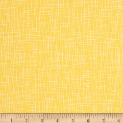 Riley Blake Hash Tag Large Yellow Fabric