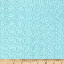 Riley Blake Hash Tag Small Aqua Fabric